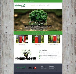 Biomasa web stranica Prvi Web
