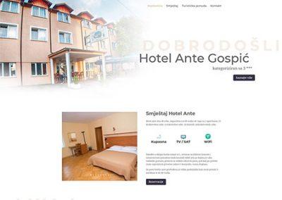 Hotel Ante
