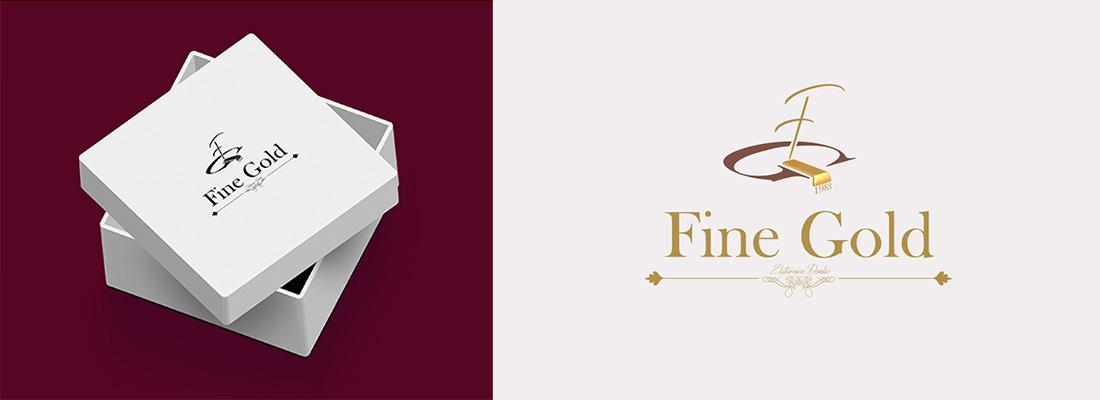 Fine gold grafički dizajn Prvi Web